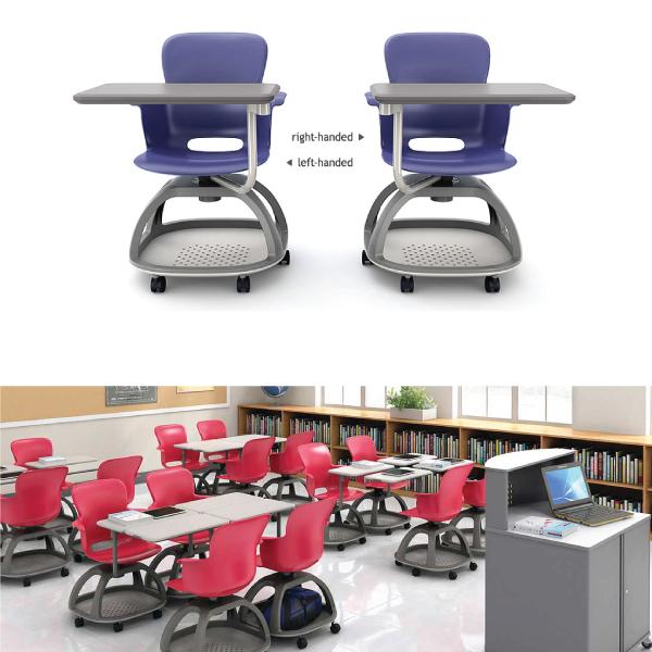 Desks/Mobile Collaborative Learning